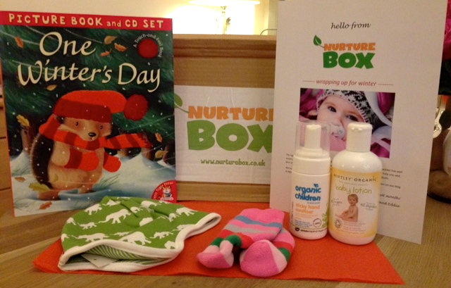 Nurture Box: Winter Warmers